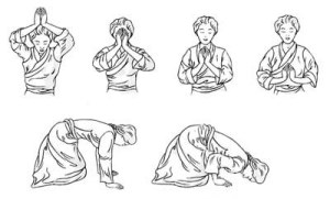 Buddhist Prostration